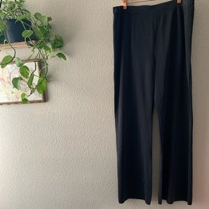 Exclusively Misook Gray Blue Knit Pants Size XL